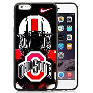 Personalized Customized Case Cover For Apple Iphone 6 Plus 5.5 Inch with Ncaa Big Ten Conference Football Ohio State Buckeyes 46 Protective Cell Phone PC Case Cover For Apple Iphone 6 Plus 5.5 Inch Generation 5.5 Black