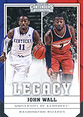 Basketball NBA 2017-18 Panini Contenders Draft Picks Legacy #18 John Wall