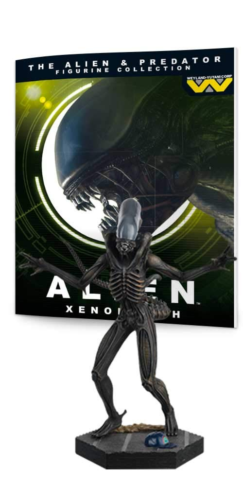 Eaglemoss Alien & Predator Figure Collection #1: Alien Xenomorph Resin Figurine