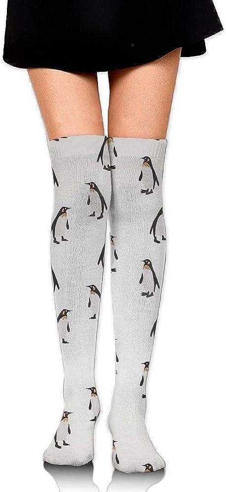 High Elasticity Girl Cotton Knee High Socks Uniform Free Penguin Women Tube Socks