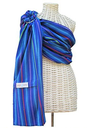 3881bc8c4f9 Amazon.com   Lightly Padded Maya Wrap Ring Sling - (BERRIES - LARGE)    Child Carrier Slings   Baby