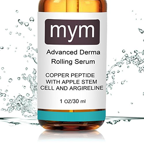 MyM Copper Peptide Serum with Apple Stem Cell and Argireline, 1 oz/30 ml