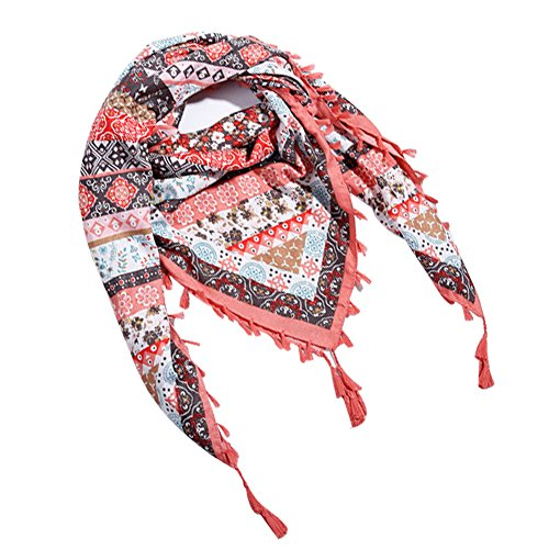 Scarfs for Women Plaid Blanket Neck Scarf Fall Winter Tartan Wrap Shawl Cape 56