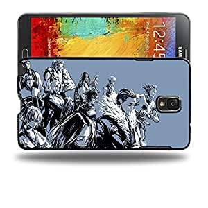 Case88 Designs Hunter X Hunter Series Protective Snap-on Hard Back Case Cover for Samsung Galaxy Note 3