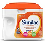 Similac Sensitive Infant Formula with Iron, Powder, 22.6 Ounces (Pack of 6)