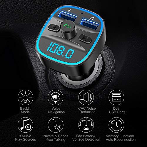 Buy bluetooth handsfree car kit fm transmitter