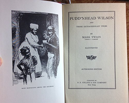 pudd nhead wilson essays Late 19th - century american literature mark twain's novel pudd'nhead wilson as a critique of 19th century hierarchies based on racial segregation.