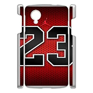Google Nexus 5 Phone Case White Jordan logo QY7038006