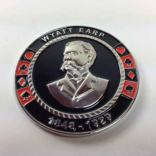 Wyatt Earp Poker Weight Commerative Coin by pokerweights