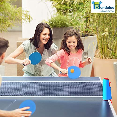 Bundaloo Red de ping pong para cualquier mesa - Equipo deportivo ...