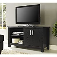 Walker Edison 44 Castillo TV Stand Console - Black