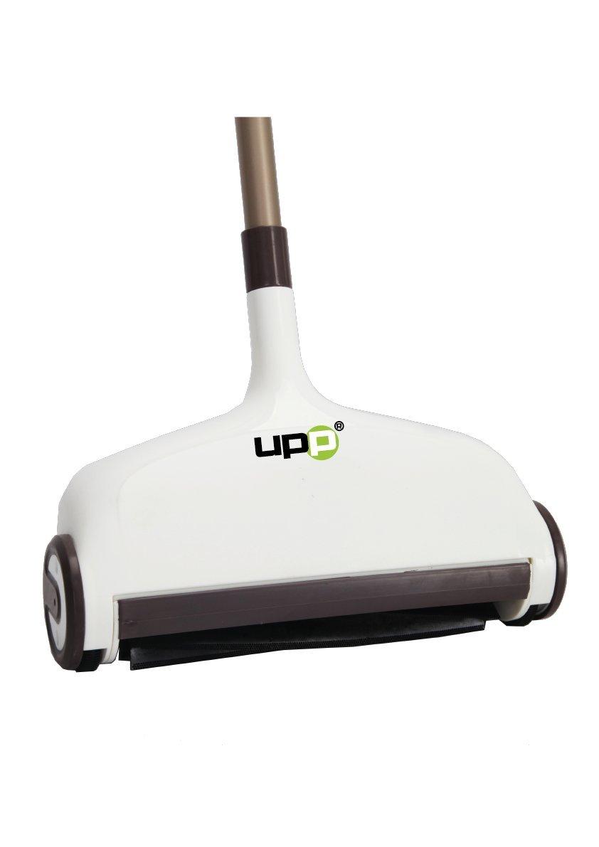 UPP® Pavimento Scopa Elettrica 2in 1con funzione wischfu (Incluso 2wischpads)–wischen & kehren contemporaneamente con un unico dispositivo UPP Products