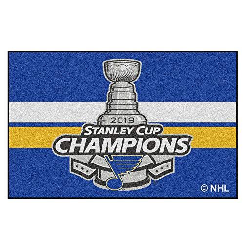 St Louis Door - FANMATS St. Louis Blues 2019 Stanley Cup Champions Starter Mat 19
