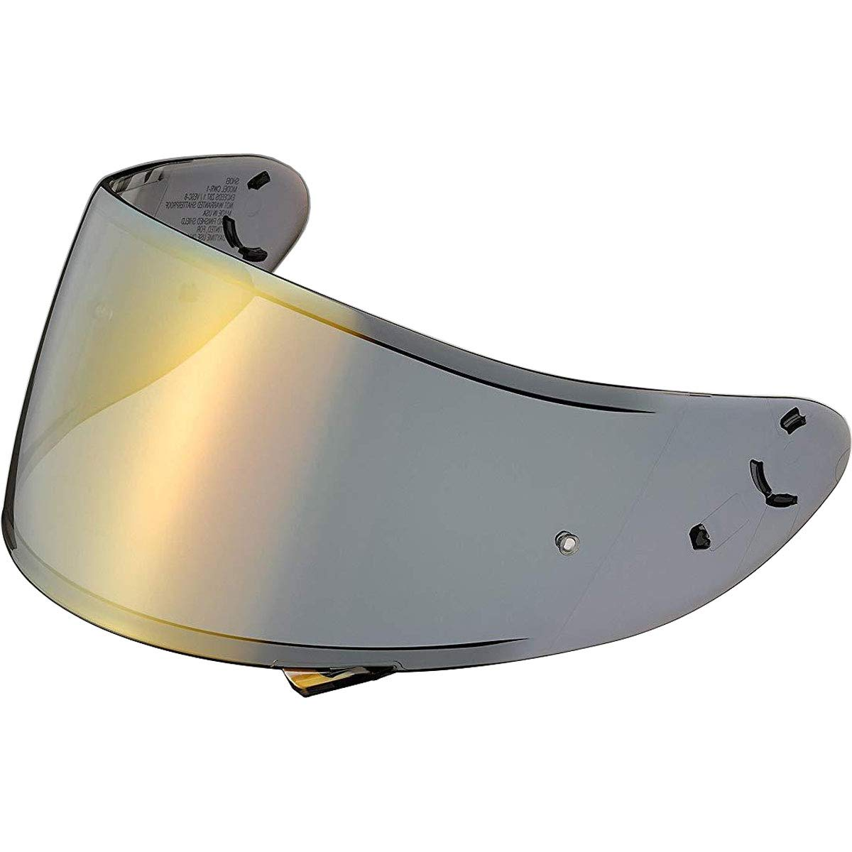 Shoei Spectra Shield with Pinlock Pins CWR-1 Street Motorcycle Helmet Accessories - Gold - for RF-1200 by Shoei