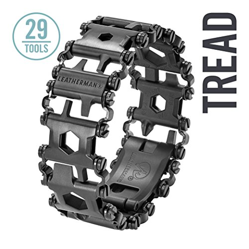Leatherman - Tread Bracelet, The Travel Friendly Wearable Multitool, Black (FFP) by Leatherman