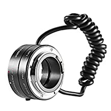 Neewer® Multifunctional Electronic Automatic AF Auto Focus Macro & Reverse Mount On Lens Extension Tube with 58mm 67mm 72mm 77mm Adapter Rings for Canon EF/EF-S Mount Lenses, Fits Canon EOS 5D Mark 3 III 5D Mark 2 II 1Ds Mark IV III II I 1D Mark III II N II I 6D 7D 10D 20D 20Da 30D 40D 50D 60D 60Da 70D 100D 300D 350D 400D 450D 500D 550D 600D 650D 700D 1000D 1100D 1200D Rebel SL1 XT XTi XS XSi T1i T2i T3 T3i T4i T5 T5i Kiss F N X X2 X3 X4 X5 X6i X7i X50 X70 Digital SLR Camera