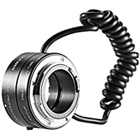 Neewer Multifunctional Electronic Automatic AF Auto Focus Macro & Reverse Mount On Lens Extension Tube with 58mm 67mm 72mm 77mm Adapter Rings for Canon EF/EF-S Mount Lenses, Fits Canon EOS 5D Mark 3 III 5D Mark 2 II 1Ds Mark IV III II I 1D Mark III II N II I 6D 7D 10D 20D 20Da 30D 40D 50D 60D 60Da 70D 100D 300D 350D 400D 450D 500D 550D 600D 650D 700D 1000D 1100D 1200D Rebel SL1 XT XTi XS XSi T1i T2i T3 T3i T4i T5 T5i Kiss F N X X2 X3 X4 X5 X6i X7i X50 X70 Digital SLR Camera