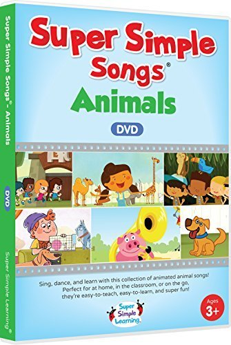 Super Simple Songs - Animals DVD -