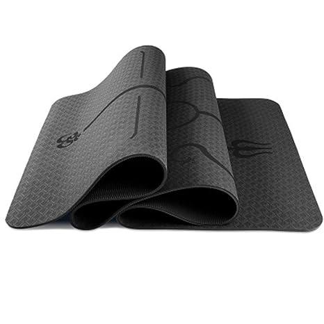 ffd53ef0c24f7 Amazon.com : WANG Yoga Mat Upgraded Yoga Mat Eco Friendly Non-Slip ...