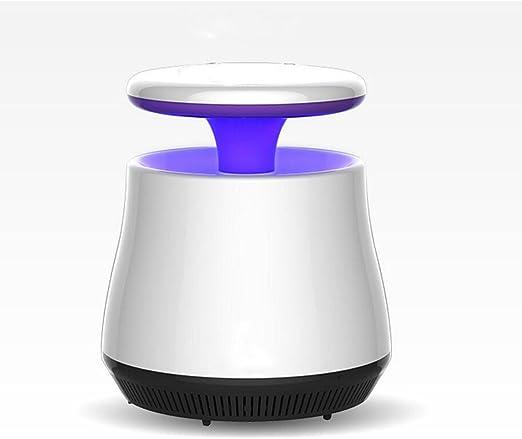 Electronic Insect Killer Ventilador de succión con luz UV Daddy Longlegs con control de luz inteligente (mata a moscas, mosquitos, y mosquitos de botella azul) con ...