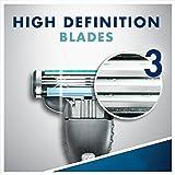Gillette Mach3 Men's Disposable Razor, Sensitive, 6 Razors, Mens Razors/Blades, 6 Count