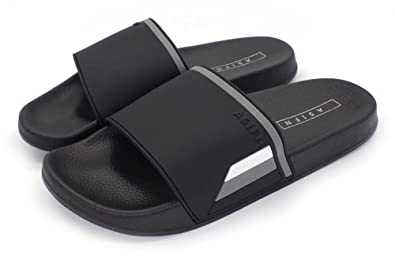 8a88048bf74869 Men and Women Shower Slippers Non-Slip Thick Bottom Casual Classic Outdoor  Bathroom Slide Sandals