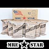 MRE STAR Full Meal Kits with Heaters - Case of 12 (Civilian MRE)