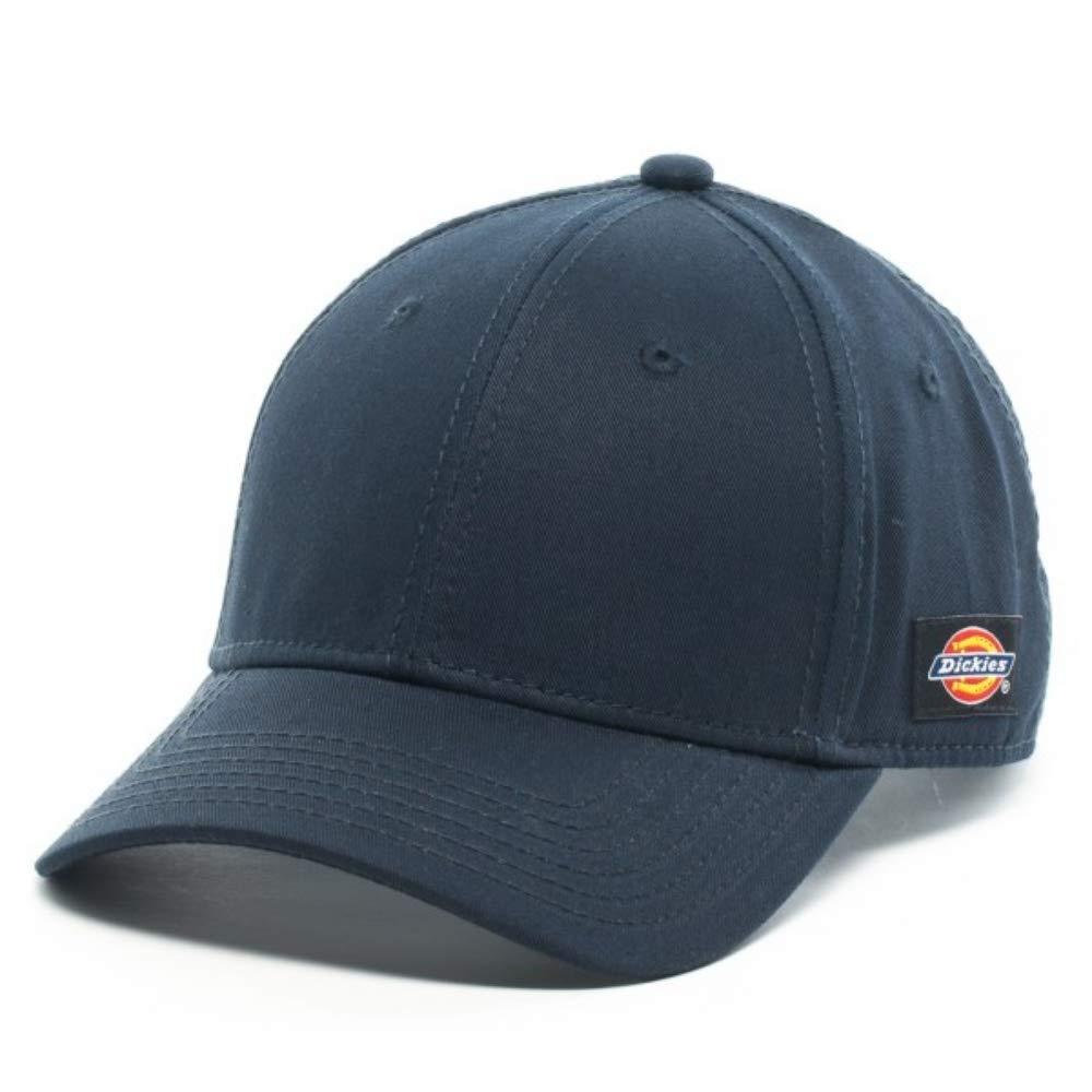 dc95c4036230d Dickies Core Adjustable Cap Men s Solid Hat (Dark Navy) at Amazon ...