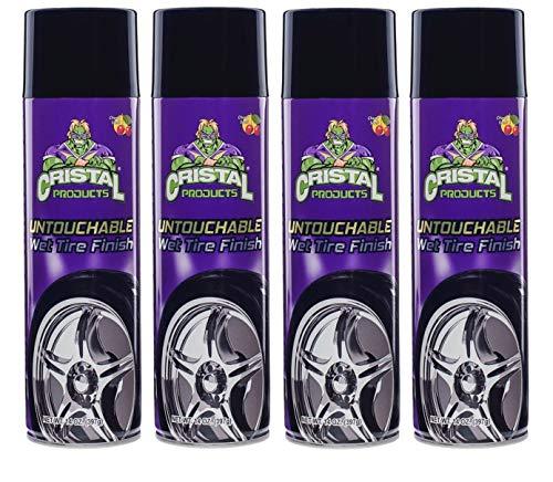 Cristal Products Untouchable Wet Tire Shine (4) (Best Wet Tire Shine)