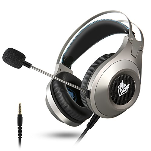Computer Headsets, ELEGIANT Over-Ear Gaming Headphone with M