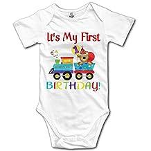 It's My First Birth Day Baby Funny Newborn Onesie Bodysuit In 4 Sizes