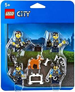 lego city police officers dog minifigure accessory pack 850617
