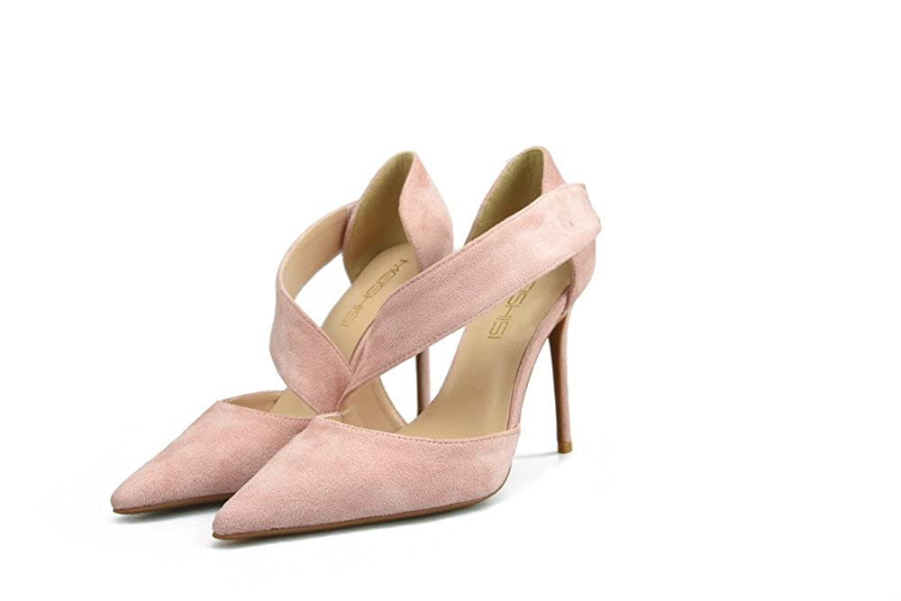 CCBubble High Heels Suede Women Sandals Party Stiletto 14 Women Shoes 14 Stiletto B(M) US|Nude 6cm B07FJQLWG8 791f94
