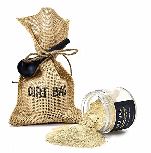 Dirt Bag Beauty Morning Sunshine Facial Mask – Powder Anti-Aging Mask to Cleanse, Soften, Smooth, Hydrate, Brighten and Firm Normal, Sensitive, Dry, Mature Skin - Organic, Vegan, Cruelty-Free, 2 oz.