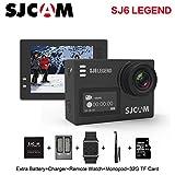 SJCAM SJ6 Legend 2 inches Touch Screen Remote Action Helmet Sports DV Camera Waterproof 4K 1080P 24FPS Action Camera SJCAM