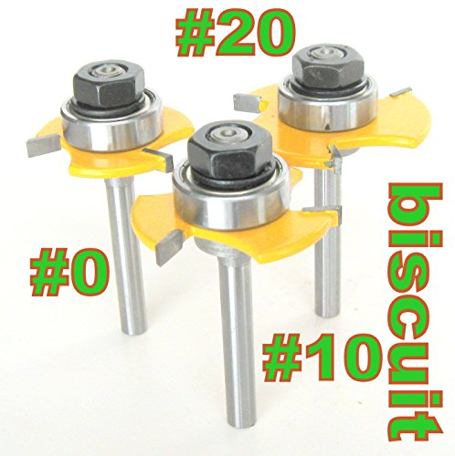 Biscuit Jointer Plate (3pc 1/4