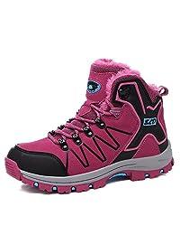 Women's Snow Boots Outdoor Waterproof Sneaker Winter Warm Shoes