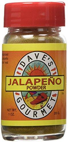 Jalapeno Powder Green - Dave's Jalapeno Powder Green Medium, 1oz.