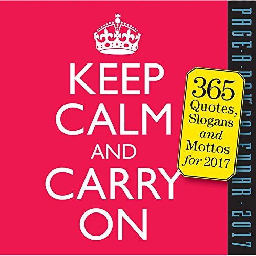 Keep Carry 2017 Page Calendar product image