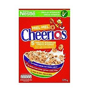 Cheerios Anillos de cereales con avena integral tostados y miel - 375 gr: Amazon.es: Alimentación y bebidas