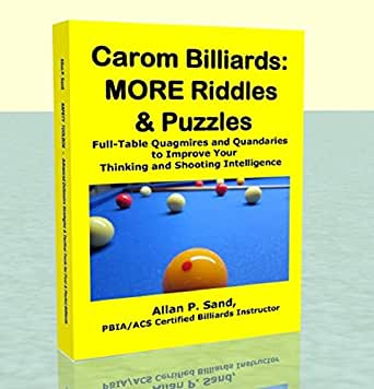 Carom Billiards: MORE Riddles & Puzzles (English Edition) eBook: Sand, Allan: Amazon.es: Tienda Kindle