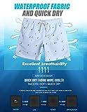 maamgic Mens Quick Dry Long Swim Trunks Slim Fit