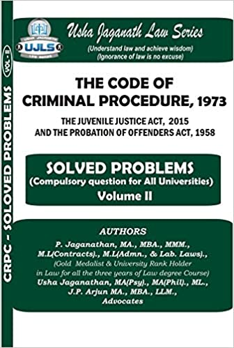 Buy The Code of Criminal Procedure (Solved Problems) Book