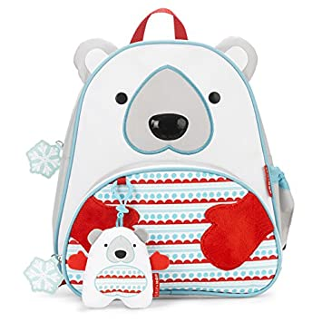 aceb25ab20 Image Unavailable. Image not available for. Color  Skip Hop Zoo Toddler Kids  Insulated Backpack ...