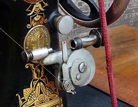 Home Comforts 1890 Singer máquina de Coser bobinadora Antigua ...