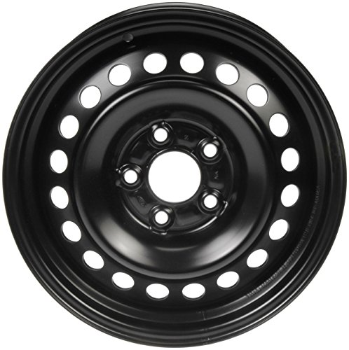 Wheels Painted Black - Dorman Steel Wheel with Black Painted Finish (15x6