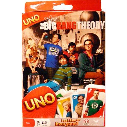 Big Bang Theory Uno Card Game Tin