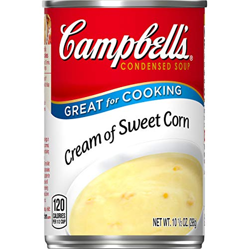 Campbell's Condensed Cream of Sweet Corn Soup, 10.5 oz. Can (Pack of 12)