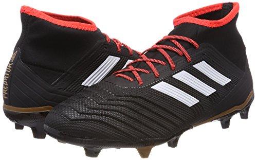 Pour Homme Chaussures De Foot Fg Ftwbla Adidas negbas 2 000 Predator 18 Rojsol Noir 0WI8H
