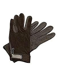 Dublin Childrens/Kids Track Riding Gloves (One Size) (Black)